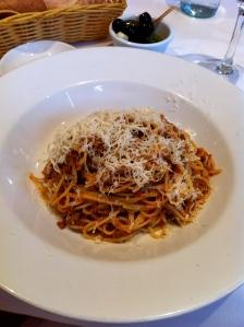 Ziani spaghetti bolognese london