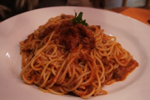 La Spaghettata spag bol