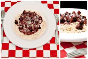 Spaghetti Bolognese Cake MEKO